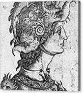 Helmet, 15th Century Acrylic Print