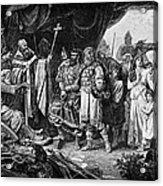 Henry I (876-936) Acrylic Print
