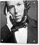 Herbert Spencer, English Polymath Acrylic Print