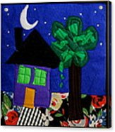 Home Acrylic Print by Ghazel Rashid