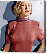 Home Town Story, Marilyn Monroe, 1951 Acrylic Print