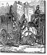 Horse Carriage, 1853 Acrylic Print
