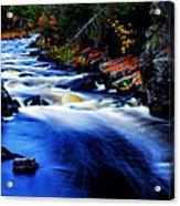 Horserace Rapids Acrylic Print