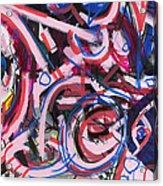Hot Pink Acrylic Print by Wes Thomason