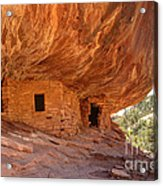 House On Fire Anasazi Indian Ruins Acrylic Print