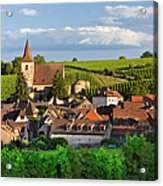 Hunawihr Alsace Acrylic Print