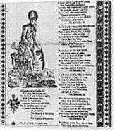 Hunters Of Kentucky, 1815 Acrylic Print