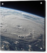 Hurricane Felix Over The Caribbean Sea Acrylic Print