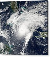 Hurricane Paloma Acrylic Print