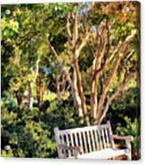I Waited For You Today Acrylic Print