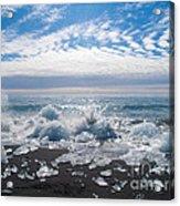Ice Beach Acrylic Print