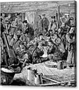 Immigrants: Chinese, 1876 Acrylic Print by Granger