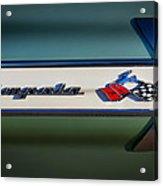 Impala Brightwork Acrylic Print by Douglas Pittman