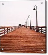 Imperial Beach Pier Acrylic Print