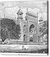 India: Taj Mahal Acrylic Print