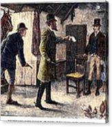 Irish Land League, 1881 Acrylic Print