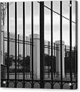 Iron And Pillars Acrylic Print