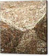 Iron-nickel Meteorite Acrylic Print