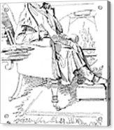 Isaac Disraeli (1766-1848) Acrylic Print