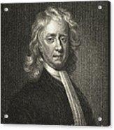 Isaac Newton, English Polymath Acrylic Print