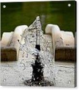 Islamic Fountain Acrylic Print
