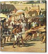 Israel In Egypt Acrylic Print by Sir Edward John Poynter