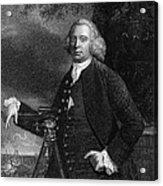 James Brindley (1716-1772) Acrylic Print