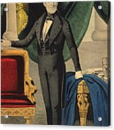 James Polk, 11th American President Acrylic Print by Photo Researchers