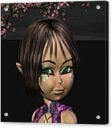 Japanese Fairy Acrylic Print