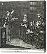 Jean Calas (1698-1762) Acrylic Print