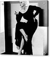 Jean Harlow, 1932 Acrylic Print by Everett