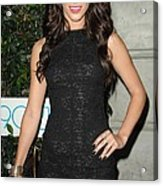 Jessica Lowndes At Arrivals For 90210 Acrylic Print