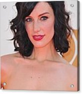 Jessica Pare At Arrivals For The 63rd Acrylic Print