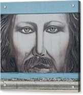 Jesus On The Street Acrylic Print