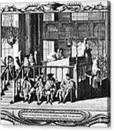 Jewish Life, 18th Century Acrylic Print