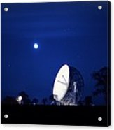 Jodrell Bank Observatory Acrylic Print by Richard Kail