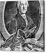Johann Adolf Hasse Acrylic Print