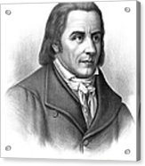 Johann Heinrich Pestalozzi, Swiss Acrylic Print