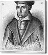Johannes Bugenhagen Acrylic Print