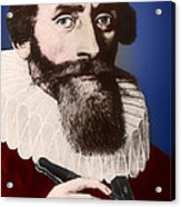 Johannes Kepler, German Astronomer Acrylic Print by Science Source