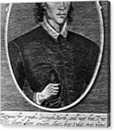 John Donne (1573-1631) Acrylic Print