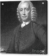 John Harrison, English Inventor Acrylic Print