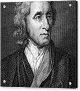John Locke, English Philosopher, Father Acrylic Print