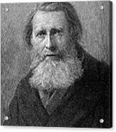 John Ruskin (1819-1900) Acrylic Print