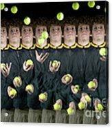 Juggler Acrylic Print by Ted Kinsman