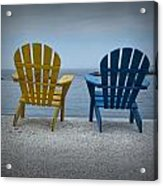 Just The Two Of Us Acrylic Print