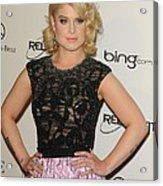 Kelly Osbourne At Arrivals For The Art Acrylic Print by Everett