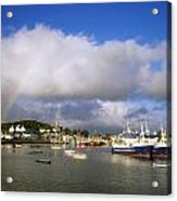 Killybegs Harbour, Co Donegal, Ireland Acrylic Print