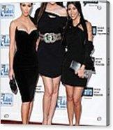 Kim Kardashian, Khloe Kardashian Acrylic Print by Everett