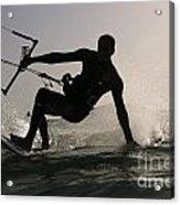 Kitesurfing Board Acrylic Print